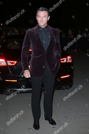 Sep 14, 2019 - London, England, UK - Fashion For Relief, The British Museum Photo Shows: Luke Evans (Credit Image: ? Mike Raison/SOLO Syndication)