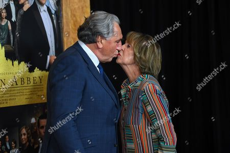 Jim Carter and Penelope Wilton