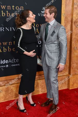 Editorial image of 'Downton Abbey' film premiere, Arrivals, Alice Tully Hall, New York, USA - 16 Sep 2019