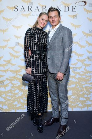 Stock Image of Aimee Mullins and Rupert Friend