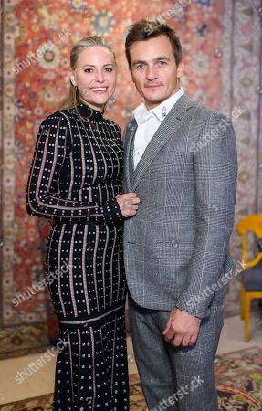 Stock Photo of Aimee Mullins and Rupert Friend