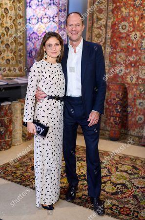 Maria Sheremeteva and Harry Blain