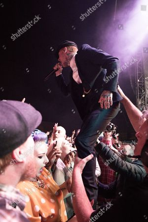 Stock Photo of Frank Carter and the Rattlesnakes
