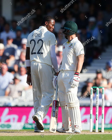 Editorial photo of England v Australia, 5th Test, Day 4, Specsavers Ashes Series, Cricket, The Kia Oval, London, UK - 15 Sep 2019