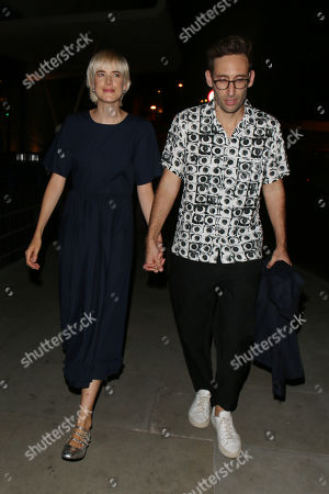 Agyness Deyn and Joel McAndrew