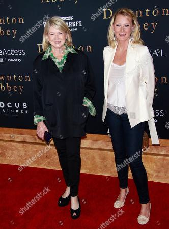 Martha Stewart and Sandra Lee