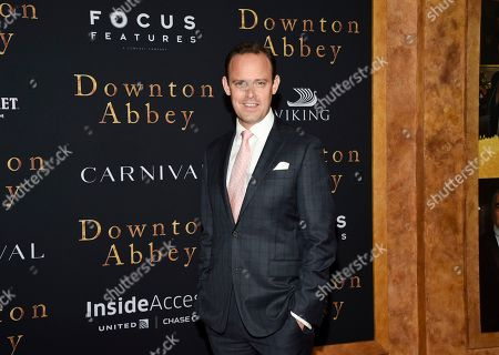 """Harry Hadden-Paton attends the premiere of """"Downton Abbey,"""" at Alice Tully Hall, in New York"""
