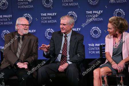 Joe Horrigan, Neal Pilson, Lesley Visser