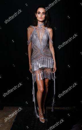 Blanca Padilla backstage