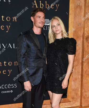 """Max Brown and guest attend the premiere of """"Downton Abbey"""" at Alice Tully Hall, in New York"""