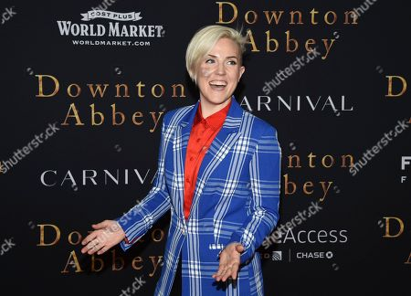 """Hannah Hart attends the premiere of """"Downton Abbey"""" at Alice Tully Hall, in New York"""