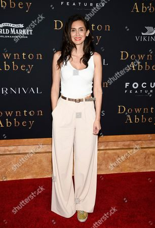 """Editorial image of NY Premiere of """"Downton Abbey"""", New York, USA - 16 Sep 2019"""
