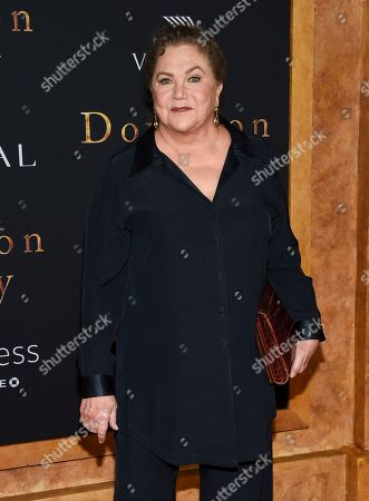 """Kathleen Turner attends the premiere of """"Downton Abbey"""" at Alice Tully Hall, in New York"""