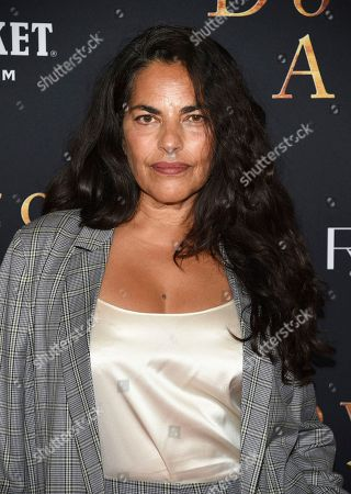 "Sarita Choudhury attends the premiere of ""Downton Abbey"" at Alice Tully Hall, in New York"