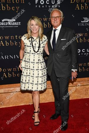 "Stock Picture of Deborah Norville, Karl Wellner. Deborah Norville and husband Karl Wellner attend the premiere of ""Downton Abbey"" at Alice Tully Hall, in New York"