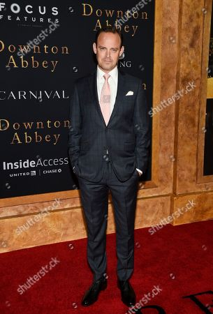 """Harry Hadden-Paton attends the premiere of """"Downton Abbey"""" at Alice Tully Hall, in New York"""