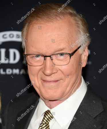 "Stock Image of WNBC news anchor Chuck Scarborough attends the premiere of ""Downton Abbey"" at Alice Tully Hall, in New York"