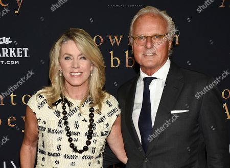 "Stock Image of Deborah Norville, Karl Wellner. Deborah Norville and husband Karl Wellner attend the premiere of ""Downton Abbey"" at Alice Tully Hall, in New York"