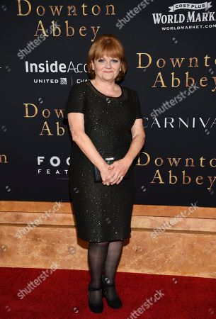 """Lesley Nicol attends the premiere of """"Downton Abbey"""" at Alice Tully Hall, in New York"""