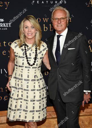 "Deborah Norville, Karl Wellner. Deborah Norville and husband Karl Wellner attend the premiere of ""Downton Abbey"" at Alice Tully Hall, in New York"