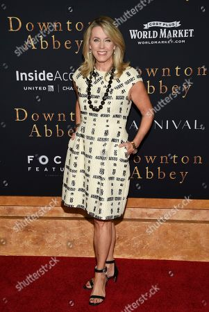 """Deborah Norville attends the premiere of """"Downton Abbey"""" at Alice Tully Hall, in New York"""