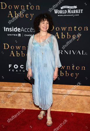 "Susie Essman attends the premiere of ""Downton Abbey"" at Alice Tully Hall, in New York"
