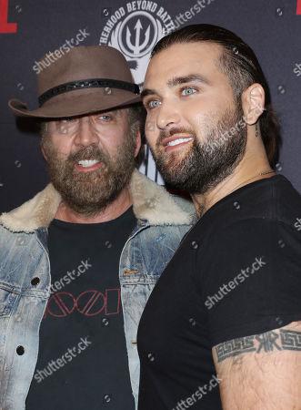 Nicolas Cage and son Weston Cage