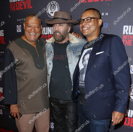 Editorial photo of 'Running with the Devil' film premiere, Arrivals, Los Angeles, USA - 16 Sep 2019