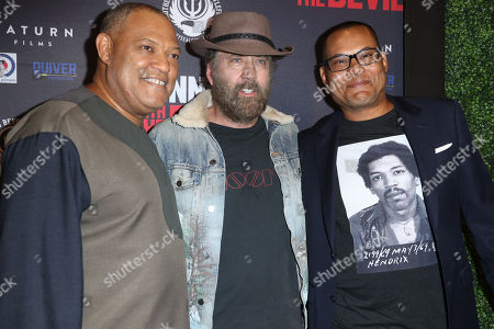 Laurence Fishburne, Nicolas Cage and Jason Cabell