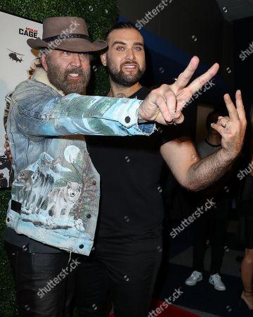 Nicolas Cage and Weston Cage