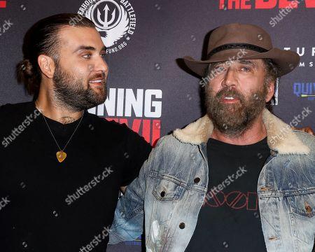 Weston Cage and Nicolas Cage