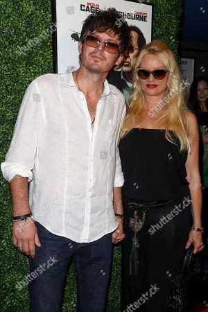 Nicollette Sheridan with boyfriend Jake