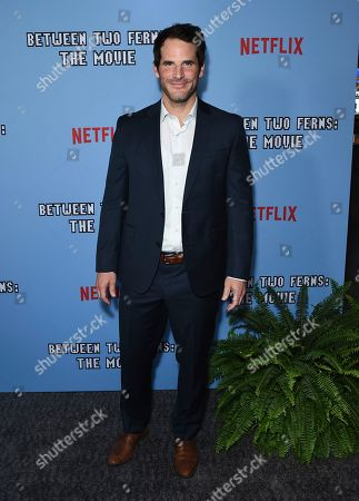 "Stock Image of Ryan Gaul arrives at the Los Angeles premiere of ""Between Two Ferns: The Movie"" at ArcLight Hollywood on"