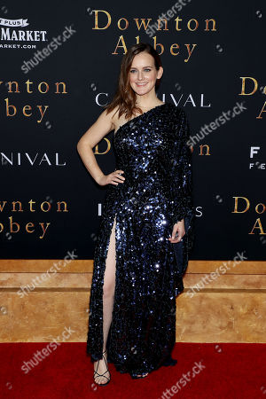 Editorial photo of New York Premiere of Focus Features 'Downton Abbey', USA - 16 Sep 2019