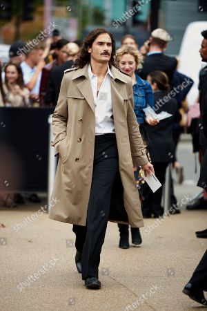 Editorial image of Burberry show, Departures, London Fashion Week, UK - 16 Sep 2019