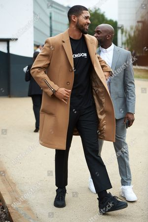Stock Photo of Ruben Loftus-Cheek leaves the Burberry show