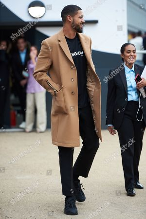 Stock Picture of Ruben Loftus-Cheek leaves the Burberry show