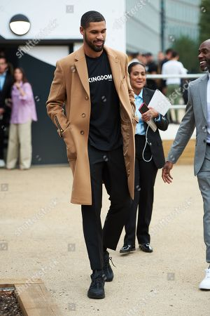 Ruben Loftus-Cheek leaves the Burberry show