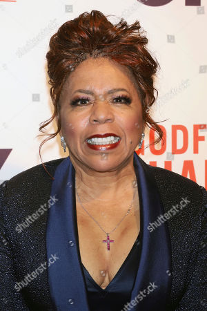 "Valerie Simpson attends a special screening of ""Godfather of Harlem"" at the Apollo Theater, in New York"