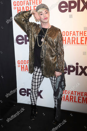 "Stock Photo of Richie Rich attends a special screening of ""Godfather of Harlem"" at the Apollo Theater, in New York"