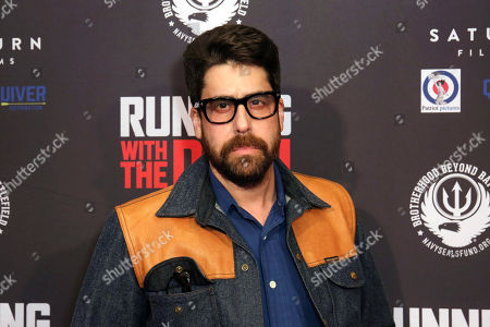 """Adam Goldberg attends the LA Premiere of """"Running with the Devil,"""" at the Writers Guild Theater, in Beverly Hills, Calif"""