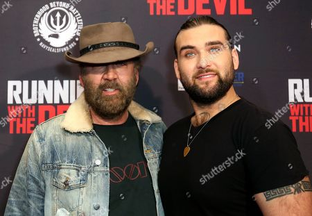 """Editorial picture of LA Premiere of """"Running with the Devil"""", Beverly Hills, USA - 16 Sep 2019"""