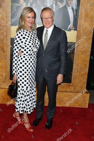 Chuck Scarborough and Ellen Ward Scarborough