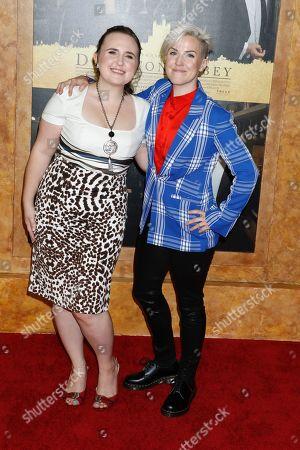 Ella Mielniczenko and Hannah Hart