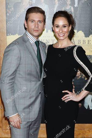 Stock Image of Jessica Blair Herman and Allen Leech