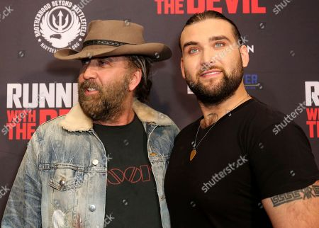 """Editorial photo of LA Premiere of """"Running with the Devil"""", Beverly Hills, USA - 16 Sep 2019"""