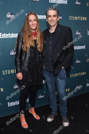 Jason Richman and daughter Ella Richman