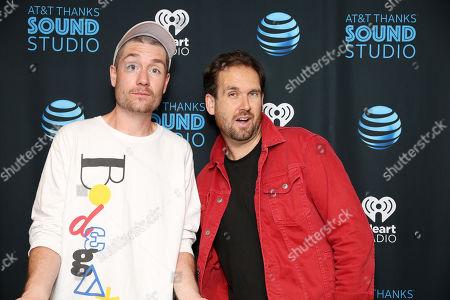 Stock Photo of Bastille - Dan Smith and Will Farquarson