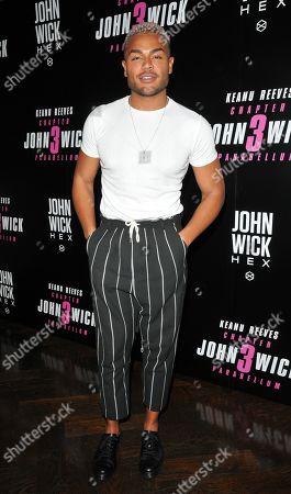 Editorial photo of 'John Wick' Excommunicado Escape Room & Bar VIP Event, London, UK - 16 Sep 2019