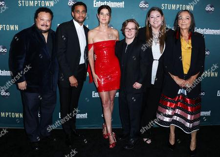 Adrian Martinez, Michael Ealy, Cobie Smulders, Cole Sibus, Camryn Manheim, Tantoo Cardinal